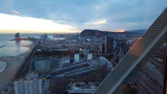 barcelona view from the room picture of hotel arts barcelona rh tripadvisor ie