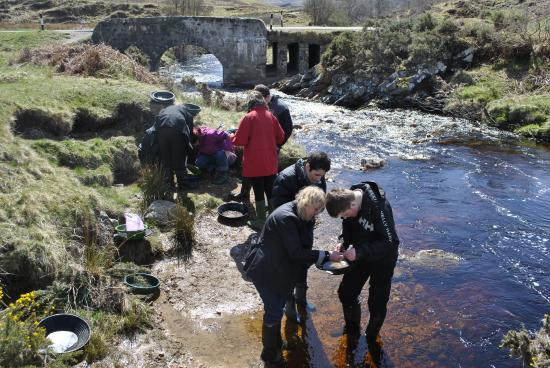 Helmsdale, UK: Gold Panning