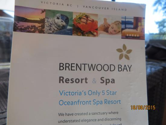 Brentwood Bay Resort & Spa: Brentwood Bay