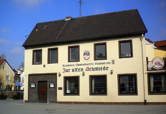 Pfaffenhofen an der Ilm, Tyskland: Zur alten Schmiede
