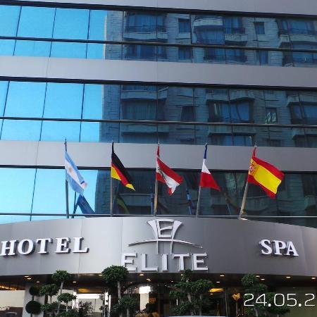 Elite Duroy Hotel & Spa : Elite Front View