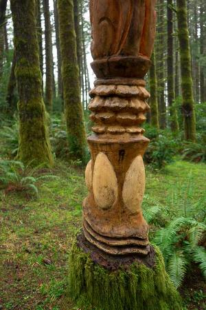 Port Orford, OR: Totem