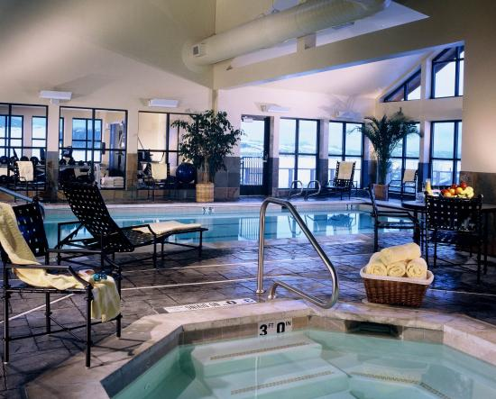 Home indoor pool and hot tub  Indoor Pool and Hot Tub - Picture of Teton Mountain Lodge & Spa ...