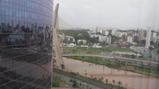 Hilton Sao Paulo Morumbi: Vista!