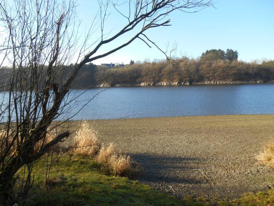 Hotel Butgenbacher-Hof: Le lac pour une promenade en pleine nature