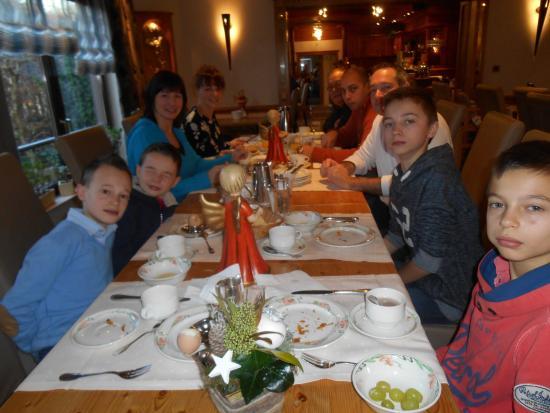 Hotel Butgenbacher-Hof: Bon appétit
