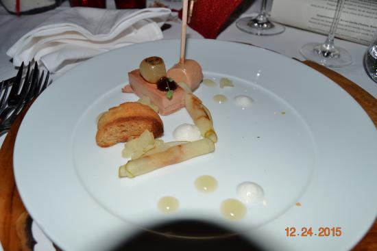 Hotel Butgenbacher-Hof: La belle assiette