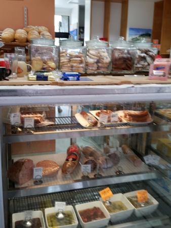 Baked Poetry Cafe: Cake counter