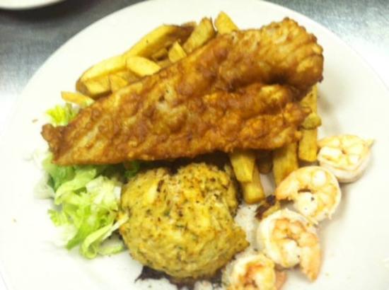 Westminster, MD: Seafood Platter