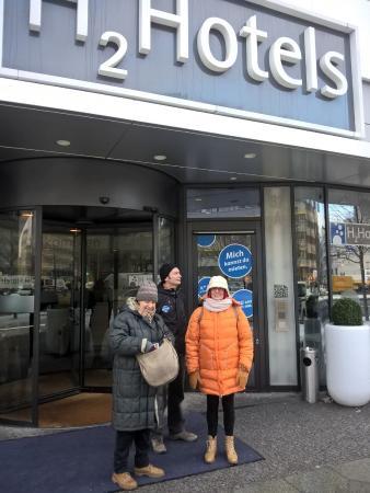 H2 Hotel Berlin Alexanderplatz: L'ingresso