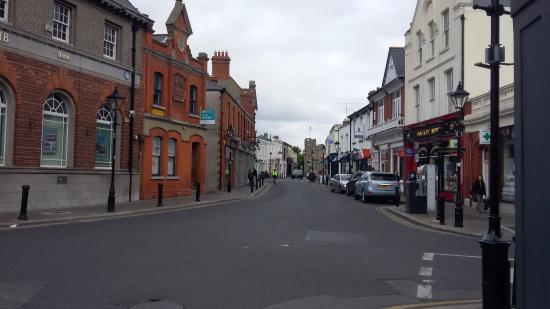 rua central de Dalkey