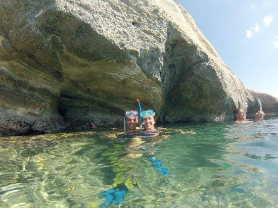 Adamas, Grecia: Snorkeling in Kleftiko