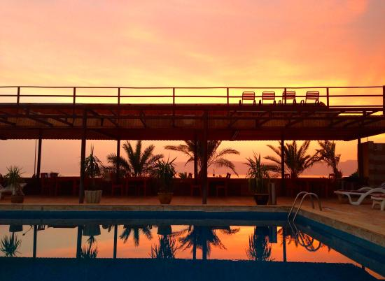 Darna Village Beach Hotel & Dive Center: Nice sunset i guess