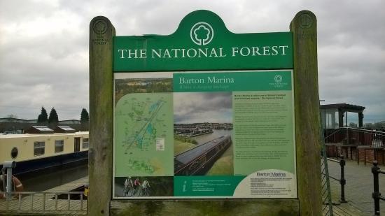 Barton Marina: Information Board