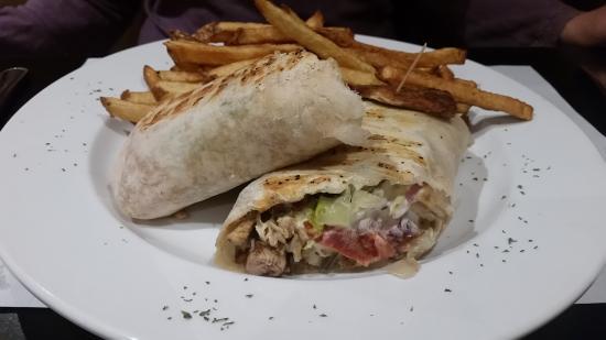 Dundas, Canada : Shawarma Wrap