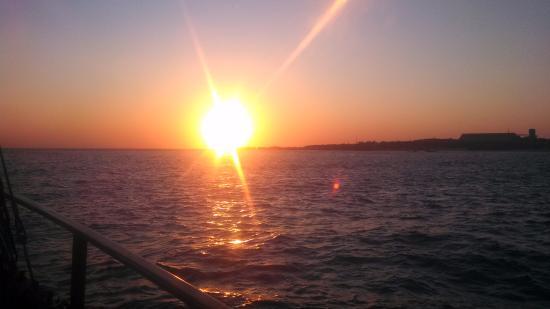 Intombi Pearl Lugger Cruise: Sunset
