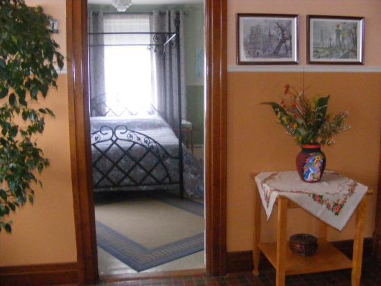 Armagh, Canadá: Chambre lit queen et lit simple, sdb privée