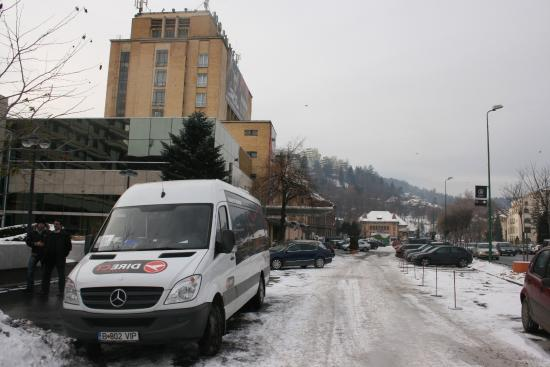 Otopeni, Rumania: Place for departure - Hotel Aro Palace Brasov