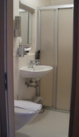 Berghotel Steiger: bathroom in room 15