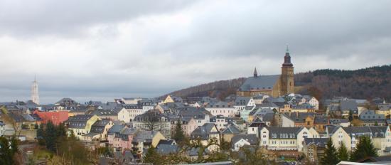 Berghotel Steiger: the view from room 15... toward Schneeberg