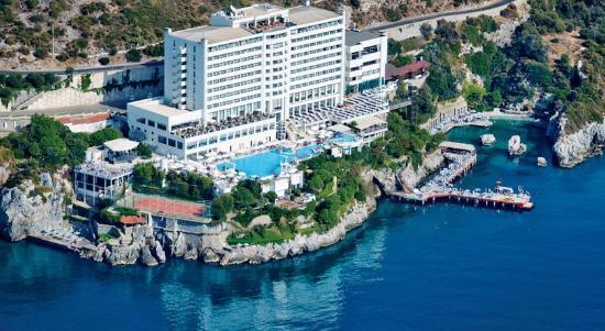 Korumar Hotel De Luxe: güneş   deniz  kum