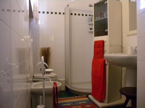 Moasca, İtalya: EAST apart. bathroom
