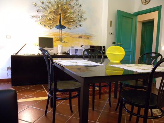 Moasca, İtalya: EAST apart. dining