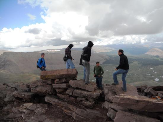 High Uintas Wilderness Area: summit of King's Peak