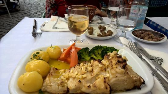 Flor Dos Arcos: o prato de bacalhau