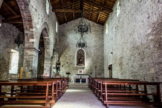 Roccascalegna, Italy: Interno
