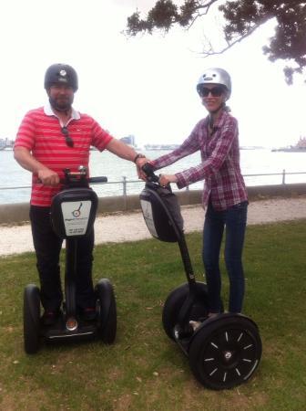 Devonport, نيوزيلندا: Segway fun !