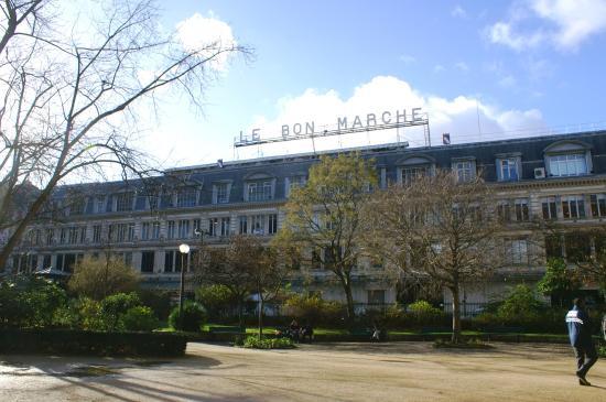 Escalator magasin ouest picture of le bon marche rive - Le bon marche adresse ...