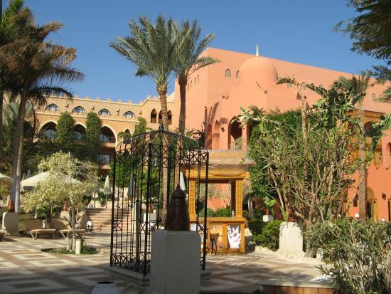 The Makadi Palace Hotel: espace transat