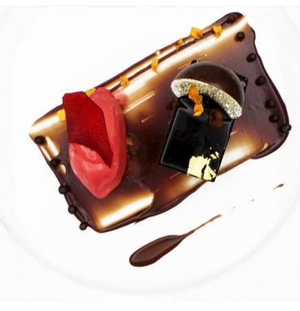 Thorntons Restaurant: Valrhona Chocolate Opera