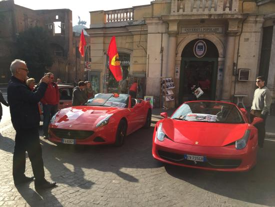 Ferrari Tour in Rome