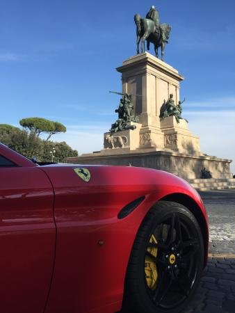 to ferrari rome cost a italy how it rent in much lurento italia does