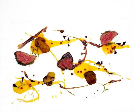 Thorntons Restaurant: Venison, Pink Peppercorn, Cep Sauce