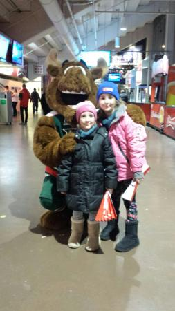 Scotiabank Centre: First Mooseheads game ☺