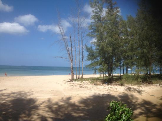 Good Days Lanta Beach Resort: Utsikt från vår bungalow