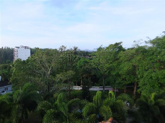 Krabi Golden Hill Hotel: วิวบริเวณโรงแรม