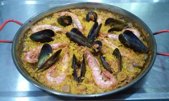 Betera, Spanien: PAELLA MARISCO