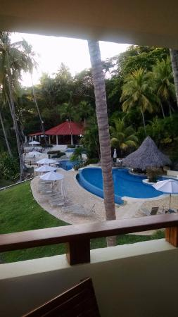 Tambor, Costa Rica: View of pools from 918 balcony