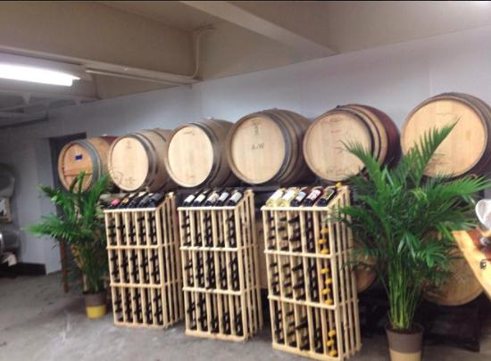 "Pittsfield, MA: ""Fern Bar"" setup of some very nice racks."