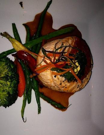 Marigold Cafe & Bakery: Salmon Roulade