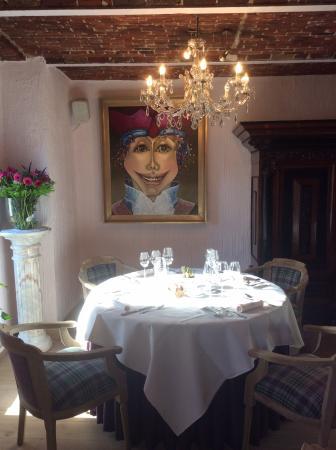 Zomergem, Belgia: Restaurant