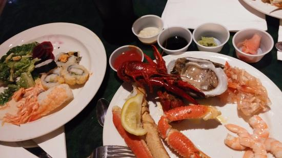 seafood buffet picture of paradise buffet and cafe las vegas rh tripadvisor co uk