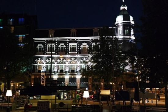 ‪‪Park Hotel Amsterdam‬: The hotel from the Irish pub‬
