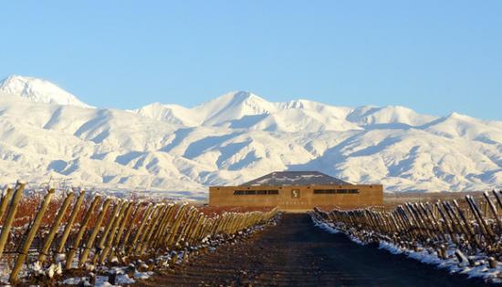 Tupungato, Argentina: Finca Sophenia en invierno