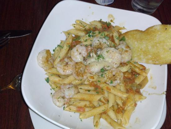 Bland Grilled Shrimp Pasta Piquant