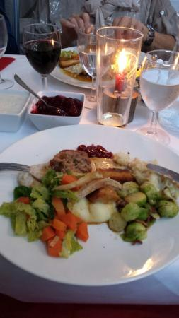 Wolf's Castle, UK: Christmas lunch 2015